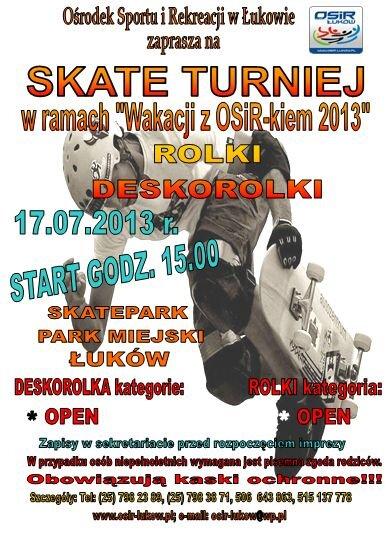 skate-turniej
